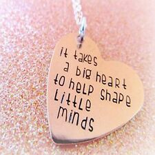 It Takes A Big Heart To Help Share Little Minds Necklace