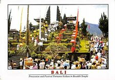 BT11912 Bali procesion and festoval purnama kedasa in besakih temple   Indonesia