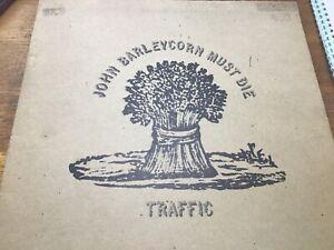 Traffic - John Barleycorn must die - Island Records 1970 EX