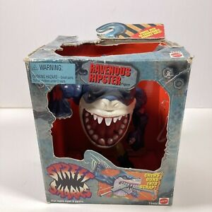 Vintage 1995 Street Wise Designs Sharks Ravenous Ripster In Box No Weapons