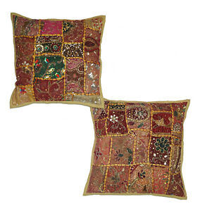 Bohemian Embroidery Decorative Cushion Cover Handmade Patchwork Cushion Cover