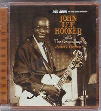 JOHN LEE HOOKER  WITH THE GROUNDHOGS - HOOKER & THE HOGS DVD-AUDIO © 1996 RAR!