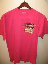 Daytona Beach Florida SpeedWeeks Speed Weeks Race Car 1992 Pink USA T Shirt XLrg