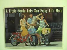 1967 Honda Model P-50 Moped  motorcycle sales brochure(Reprint) $7.50