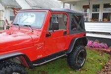 Jeep TJ Deluxe Rocker Armor Rock Side Rails Sliders