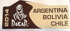 DAKAR 2014 ARGENTINA BOLIVIA CHILE RALLY RAID OFF ROAD 4x4  FREE POSTAGE