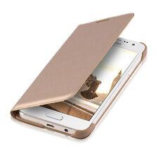 kwmobile Flip Schutz Hülle für Samsung Galaxy A3 (2015) Gold Case Kunstleder