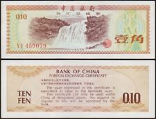 10 Fen 1979 China/China - Foreign Exchange Certificate [ Yy 450079]