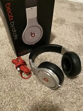 Beats by Dr. Dre Pro Over the Ear Headphones - Black/Silver used authentic