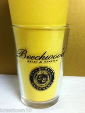 Beechwood Sales and Service Budweiser beer chaser taster bar glass glasses QK7