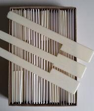 "Piano Keytops Simulated Ivory Full set of 52 Replacement Keytops 1-15/16"" Head"