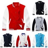 Mens Varsity Jacket College University Letterman Baseball Coat Outfits Top Ths01