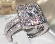 Diamond Engagement Round Costume Rings