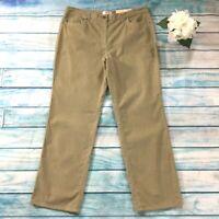 Talbots Womens Jeans sz 18 new nwt Beige Lightweight Corduroy x32 Cotton Stretch