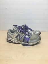 New Balance MX871 Training-Run Shoe Mens Size10  gray  -purple  Lace-Up Sneaker