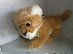 "Aurora Babies Lion Stuffed Plush with Tags 9"""