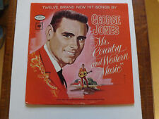 GEORGE JONES  MISTER COUNTRY AND WESTERN MUSIC