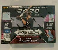 2020 Prizm Draft Picks Baseball Mega Box 1 Auto 2 Silver Rookie Rc Card Sealed!