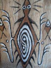 nice SENTANI TAPA for grave - Papua New Guinea - Oceanic Art