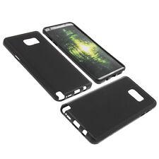 Funda para Samsung Galaxy Note 5 Funda protectora de móvil TPU GOMA FUNDA NEGRA