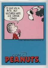 1992 ProSports Peanuts Classics #55 I'd Give You a Bite Non-Sports Card 6b1