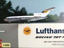 """Starjets 1:500 Lufthansa B727-200 D-ABIN """"Spiegelei""""  plus Herpa Wings Katalog"""