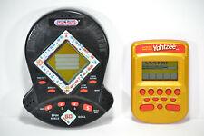 2002 Yahtzee Electronic Handheld Travel Game & 1999 Jackpot Monopoly Hasbro