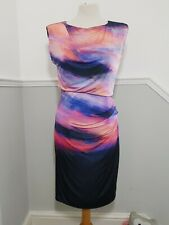 Coast Blouson Wiggle Dress Size 10 Holiday Wedding Cruise Special Occasion