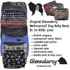 Glenndarcy Washable Male Dog Belly Band XL to XXXL I Urine Incontinence