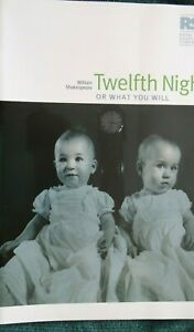 Twelfth Night, Theatre Programme, RSC Production