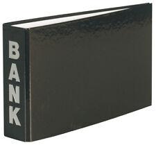3 Bankordner für Kontoauszüge / Größe: 140x250mm / Farbe: schwarz