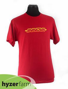 INNOVA STRIPED BAR Short Sleeve BLEND T-Shirt *pick color and size* Hyzer Farm