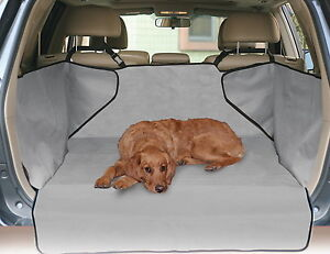 K&H Economy Cargo Mat Dogs Car SUV Rear Trunk Cover Quilt Gray or Tan KH7878