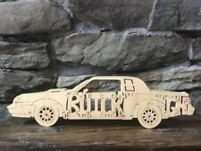 Buick Grand National Luxury Car  Wood Puzzle Amish Made Car Toy NEW!!