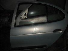 1999 RENAULT MEGANE SILVER PASSENGER NEAR SIDE REAR DOOR COMPLETE