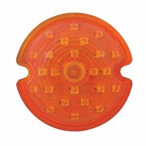 LED PARKING LIGHT LENS CHEVROLET CORVETTE AMBER 1953-1962 CPL53 62A 1 PR