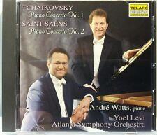 Tchaikovsky Piano Concerto No.1 Saint-Saens (Telarc/Colunbia, 1995) (cd4513)