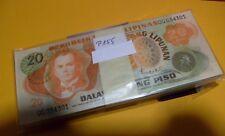 P155    Philippines/ Philippinen  20  Piso   1970   BUNDLE 100 Pcs  UNC