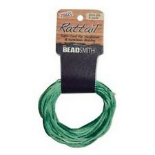 6 Yards 1MM RATTAIL EMERALD (Free Shipping)