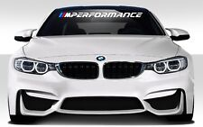 BMW M Performance Car Decal Vinyl Stickers Banner Windshield JDM EURO DUB