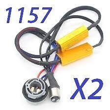 Load Resistor Hyper Flash Canceller Switchback LED Turn Signal light 1157 BAY15D