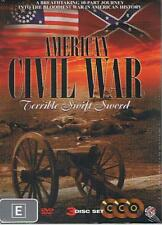 AMERICAN CIVIL WAR - TERRIBLE SWIFT SWORD DOCUMENTARY 3-DVD SET - NEW & SEALED