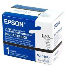 Epson Tintenpatrone schwarz für TM-J 7100/7600