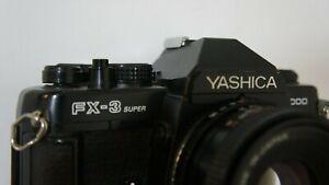 Yashica FX-3 Super 2000 camera body + ML Lens 50mm f/1.9
