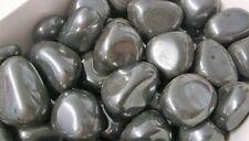 Large Polished Hematite Tumblestone 20 - 25mm Reiki Chakra Healing Crystals