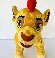 "Disney Store The Lion Guard Kion 14"" Soft Plush Stuffed Animal Toy"