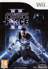 Star Wars le pouvoir de la force II 2 jeu pour Nintendo WII PAL FR  ++ 100% NEUF