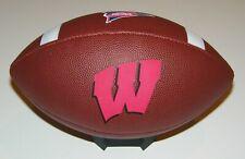 UW Wisconsin Badgers NCAA Wilson Logo Football - Big 10