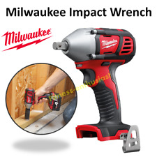 "Milwaukee Cordless Impact Wrench 1/2"" Compact 18V Li-ion M18 Pin-Detent M18BIW12"