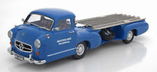 Mercedes Renntransporter blue wonder 1954 / 55 - 1:18 i-Scale